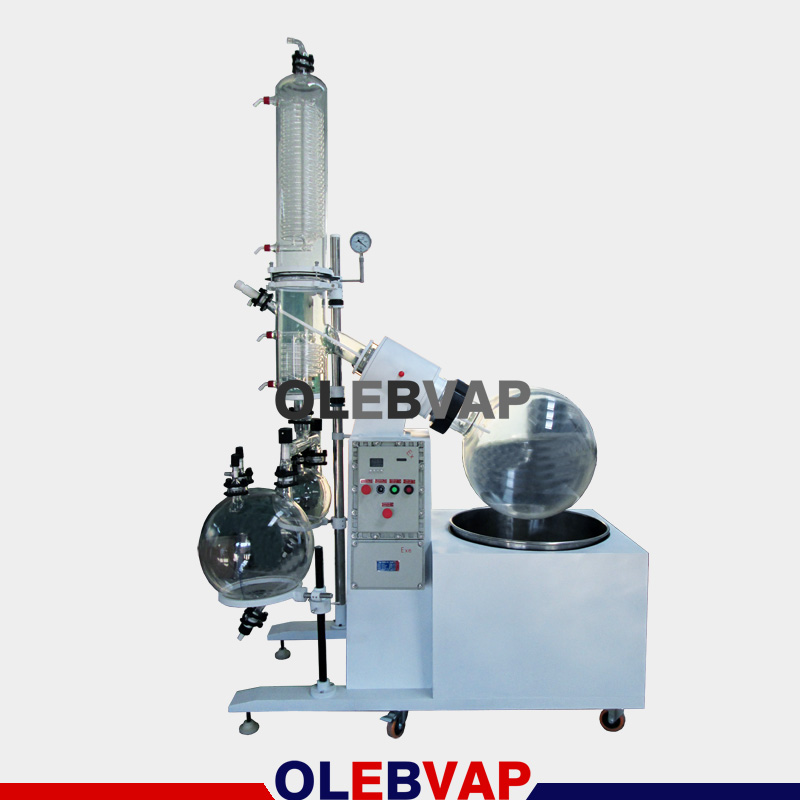 100L explosion-proof rotary evaporator